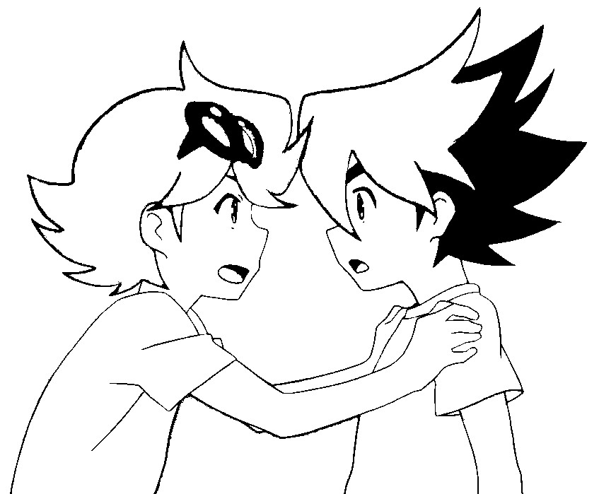 847x699 Coloring Pages Tenkai Knights Drawing