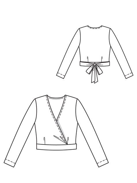475x633 Wrap Knit Top 112012
