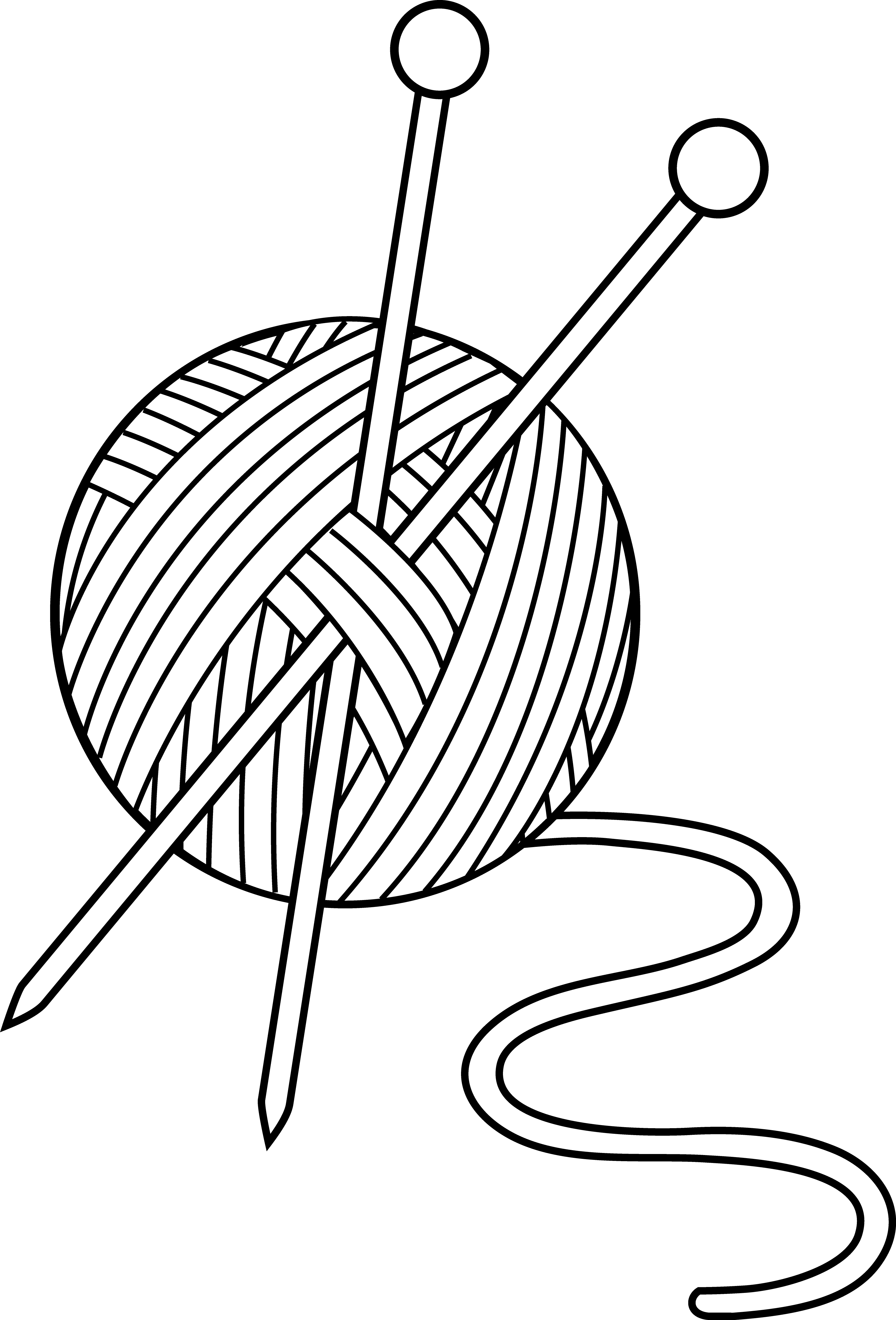 3504x5161 Line Drawing Needle And Thread