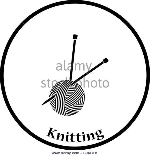 520x540 Knitting Needles Wool Cutout Stock Photos Amp Knitting Needles Wool
