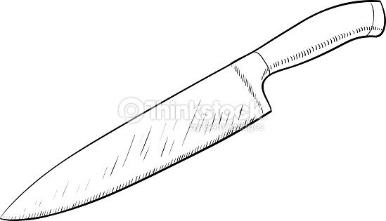 549x315 Kitchen Delightful Kitchen Knife Drawing How To Draw Step 0