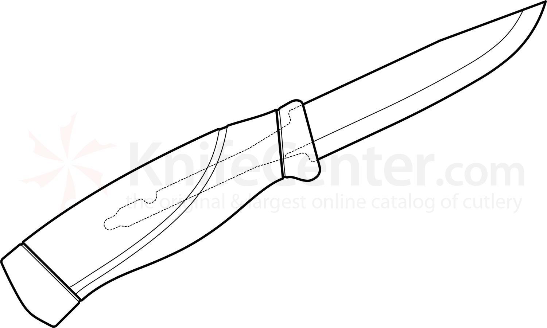 1500x900 Morakniv Mora Of Sweden Orange Companion Knife 4 Stainless Steel