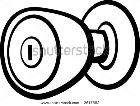 450x341 Door Knob Clipart