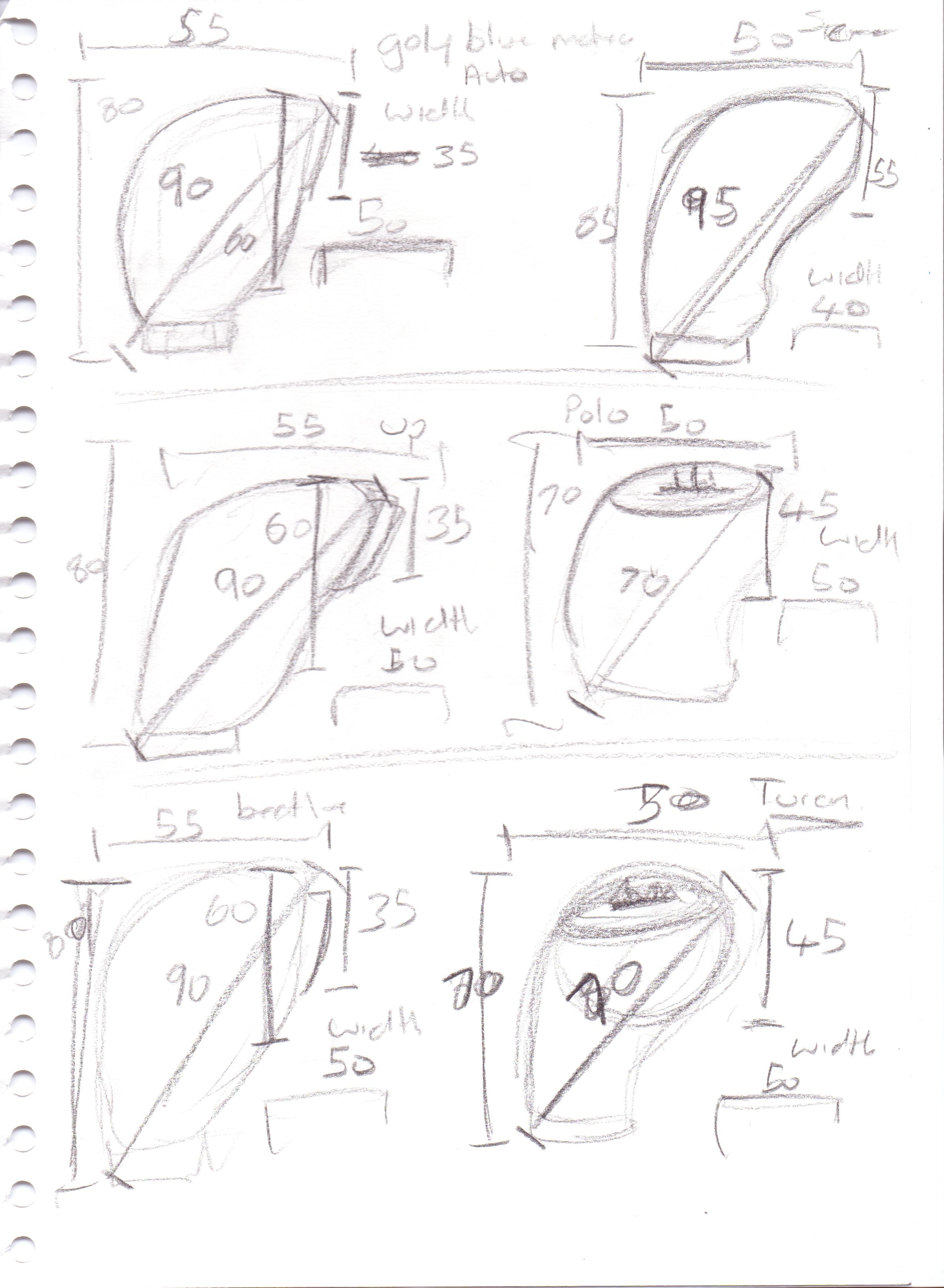 2550x3477 Gear Stick Proposal! Harrison Pittaway Design