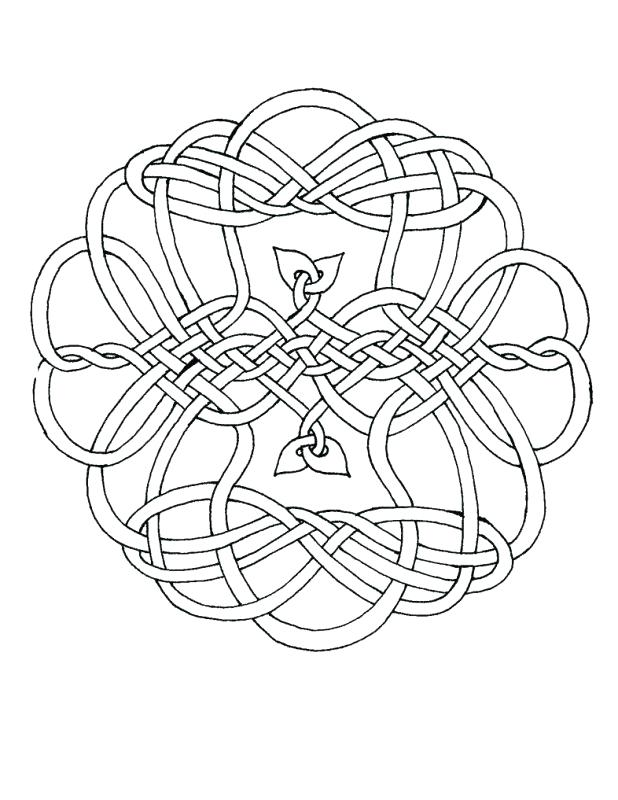 618x800 Celtic Knot Coloring Pages This Is One Of My Many Knots Which I