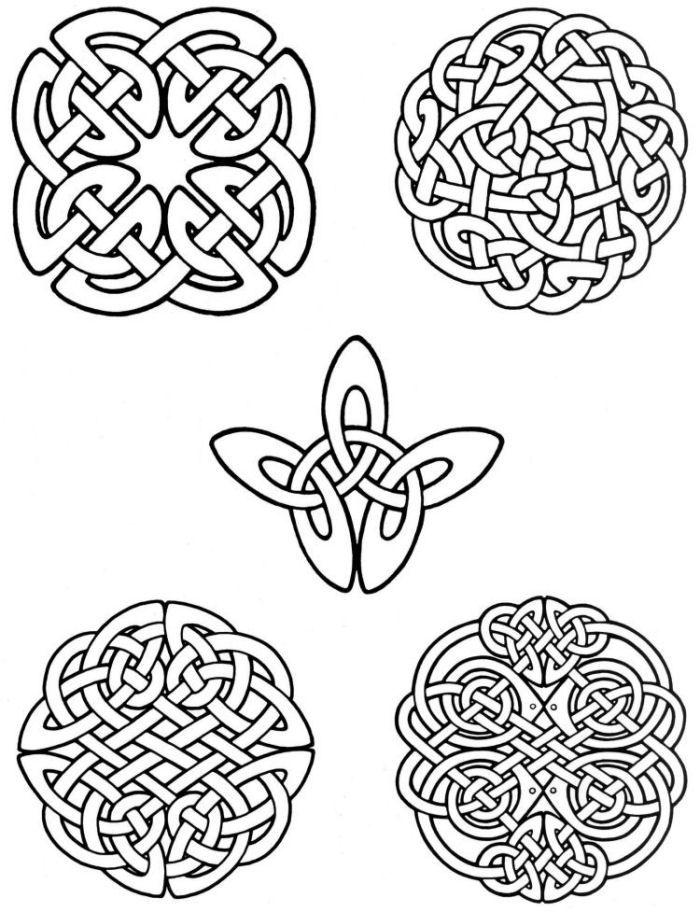 700x912 Celtic Knot Coloring Pages Celtic Knots Celtic Art
