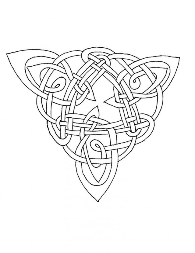 640x828 Celtic Knot Coloring Pages Wallpaper Zoo Celtic Coloring Pages