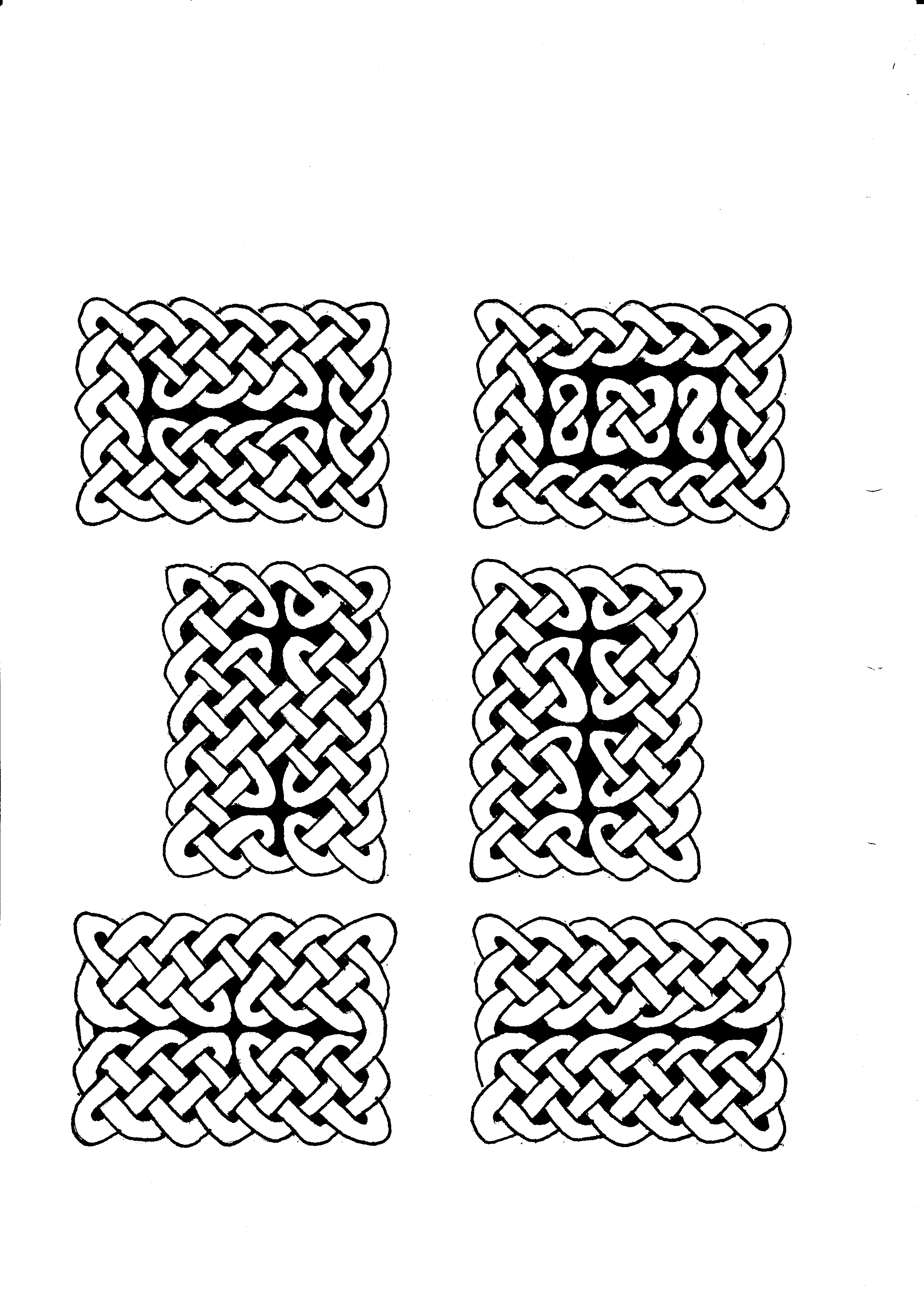 2480x3507 Celtic Knot By Curly Wolf