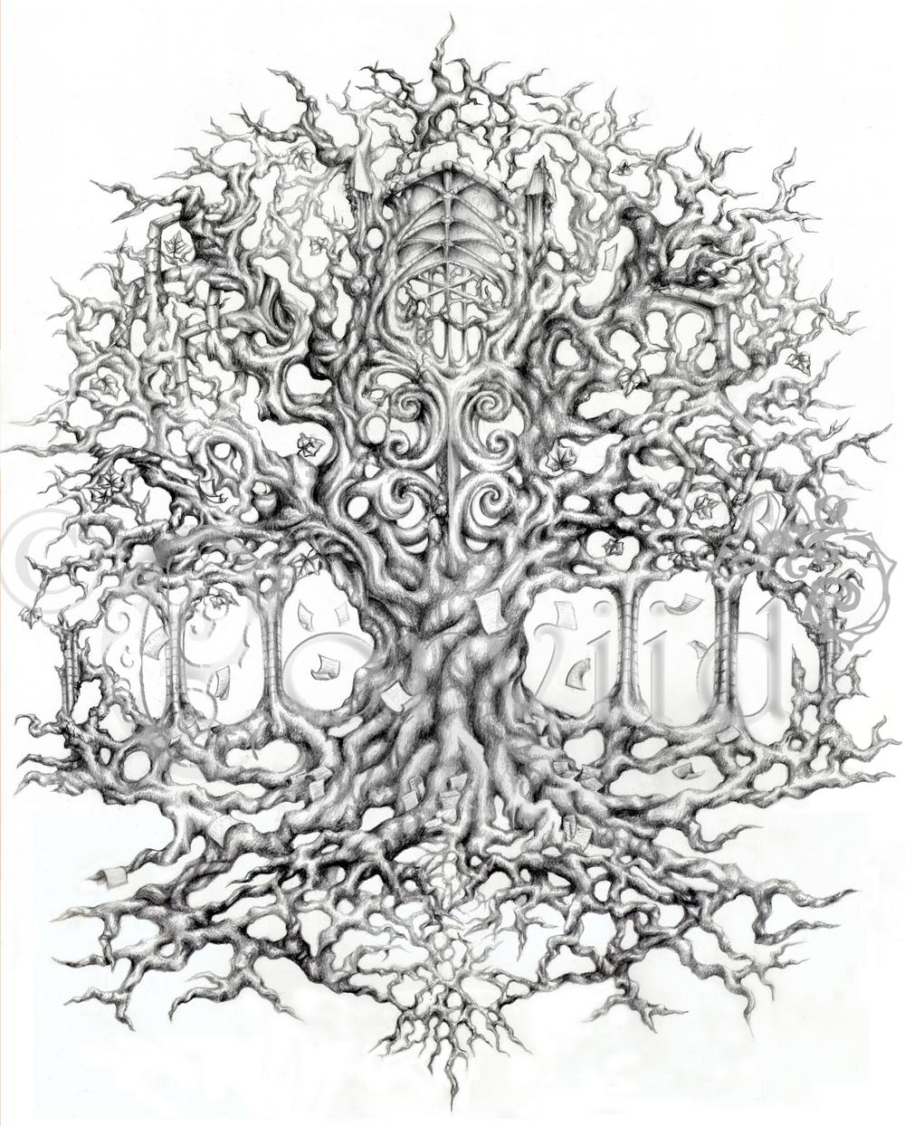 1000x1244 Tattoo Design The Death Vine