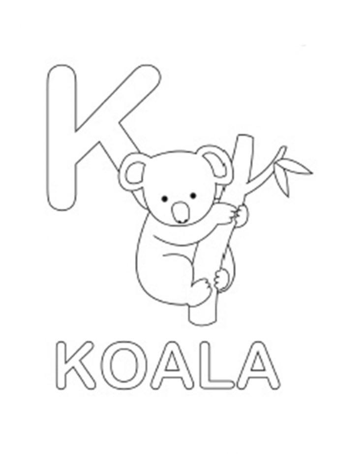 687x924 Coloring Pages Koala Bear Tags Koala Coloring Pages Disney