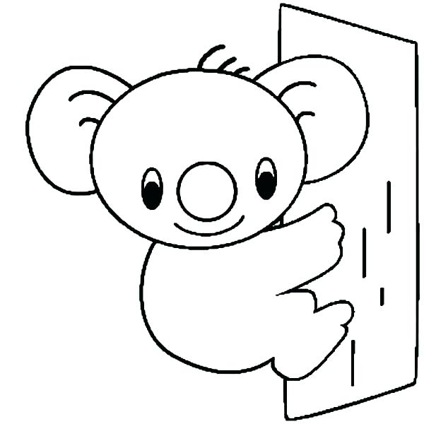 600x600 Top Rated Koala Coloring Pages Images Crying Koala Coloring Page
