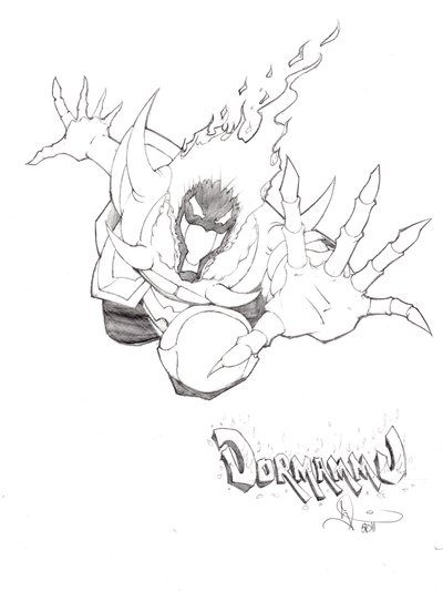 400x543 Dormammu .'Run' By Sketchmonsta