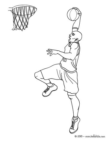 364x470 Kobe Bryant Coloring Page. More Sports Coloring Pages On Hellokids