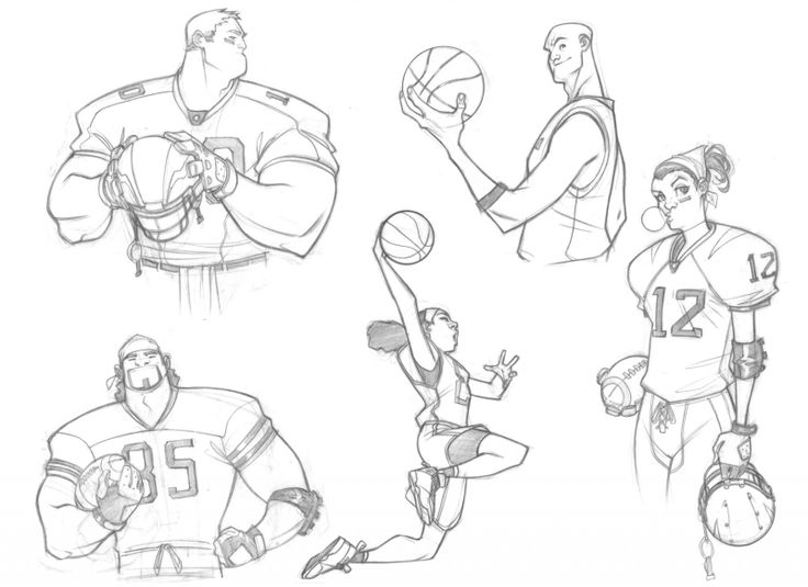 736x535 9 Best Sport Sketch Images On Character Design