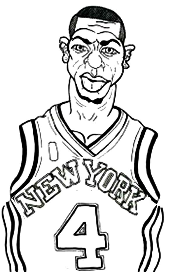 600x933 New York Knicks Coloring Pages