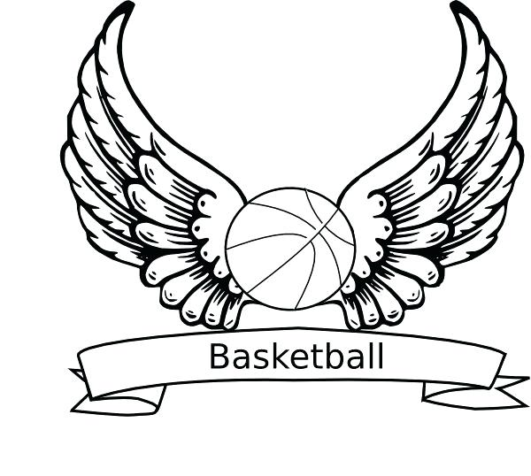 600x538 Basketball Coloring Pictures Basketball Coloring Pages Printable