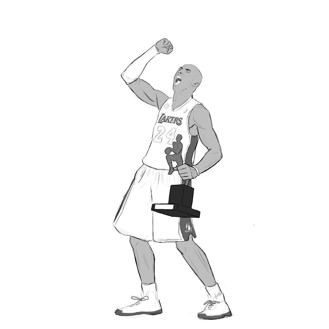 1080x1080 Nba Custom Character Art For A Client
