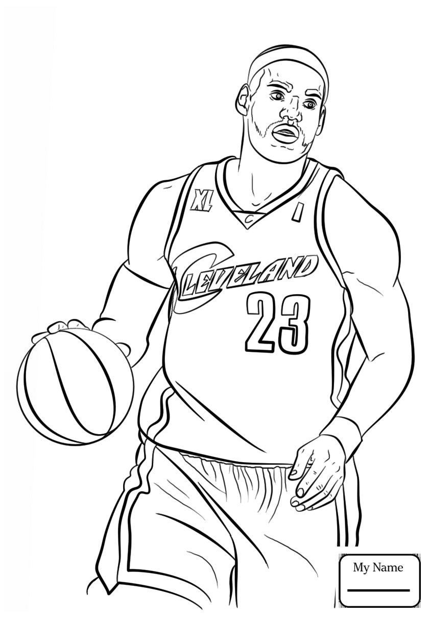 840x1210 Sports Kobe Bryant Coloring Pages For Kids