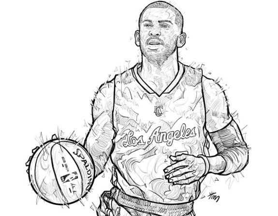 575x446 Illastration Chris Paul Chris Paul