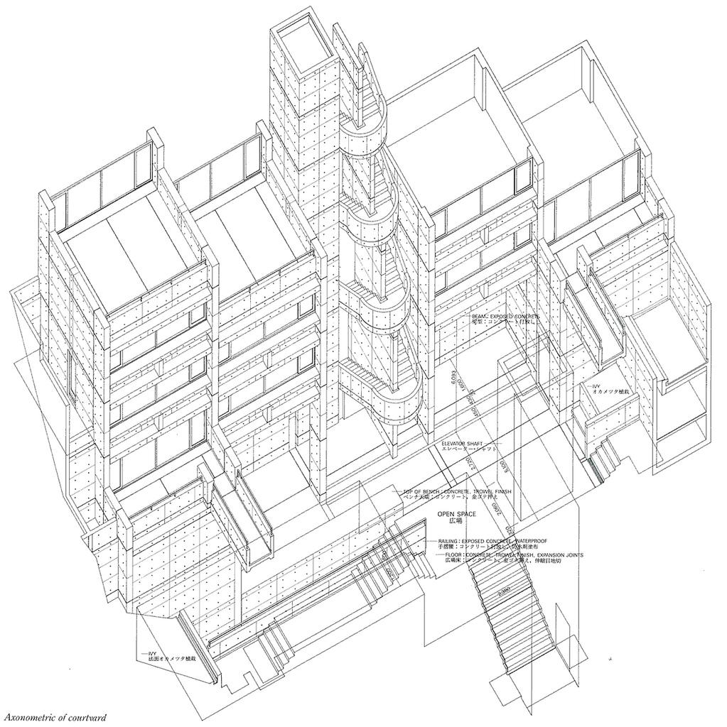 1023x1024 Tadao Ando Rokko Housing Tadao Ando Tadao Ando