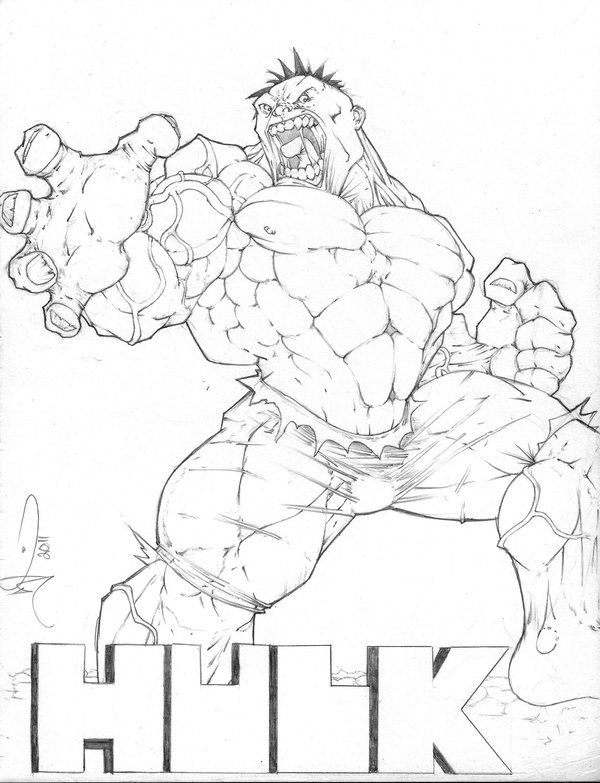 600x783 Hulk Smash You By Sketchmonsta