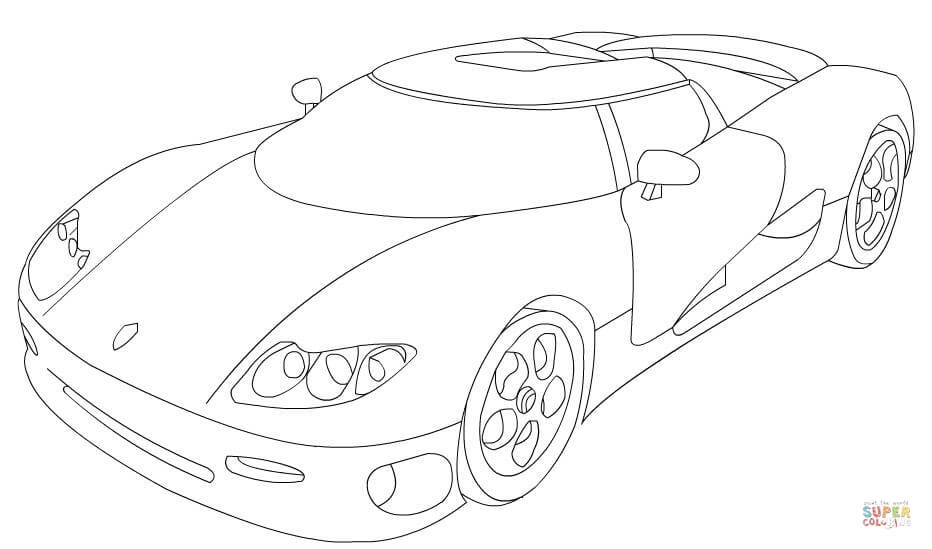 932x549 Koenigsegg Coloring Pages Koenigsegg Regera Coloring Pages