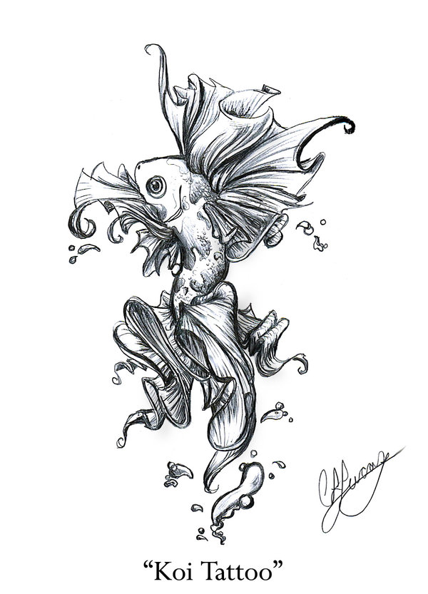 600x833 Index Of Wp Contentgallerycategory Koi Fish Tattoos