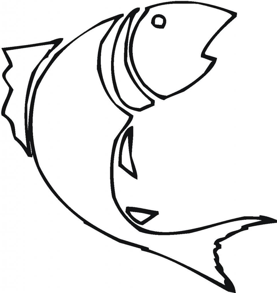 968x1024 Simple Fish Drawings