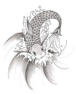 259x320 Simple Tattoo Gallery Japanese Tattoos Especially Koi Fish