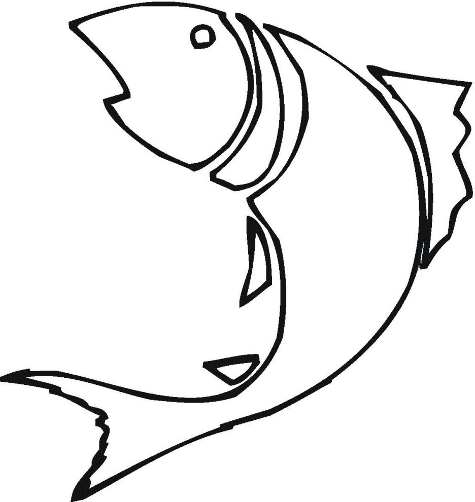 936x990 Adult How Draw A Fish Easy How Draw A Very Easy Fish. How