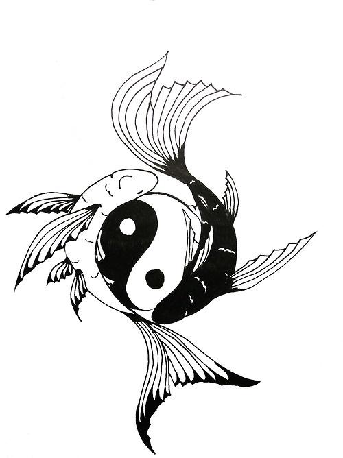 500x668 Koi Yin Yang Fish Tattoos 3rdtat