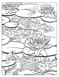 231x300 Download Online Coloring Pages For Free Part 32, Koi Pond Coloring