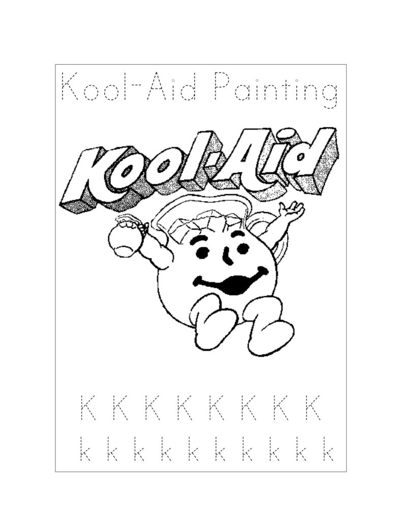 791x1024 Kool Aid Coloring Pages