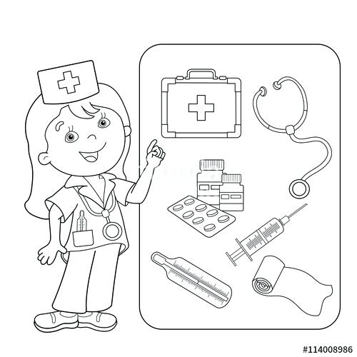 500x500 First Aid Coloring Pages Transasia