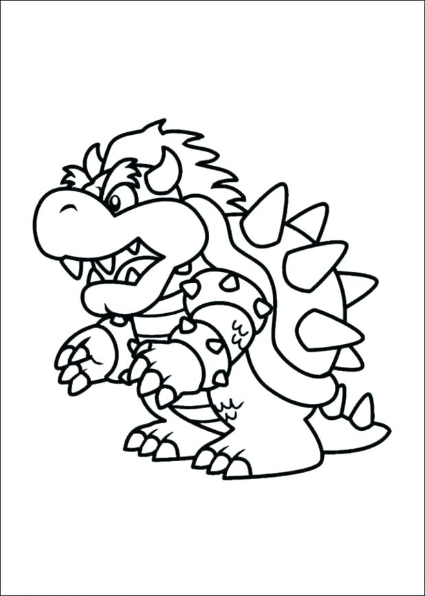618x866 Koopa Troopa Coloring Pages Coloring Pages Coloring Home Mario