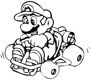 300x264 Coloring Pages Koopa Troopa And Super Mario For Kids To Print