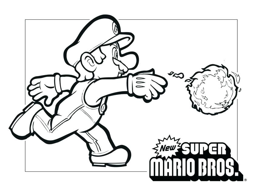 863x637 Great Super Mario Coloring Pages Fee Bros Picture Koopa Troopa