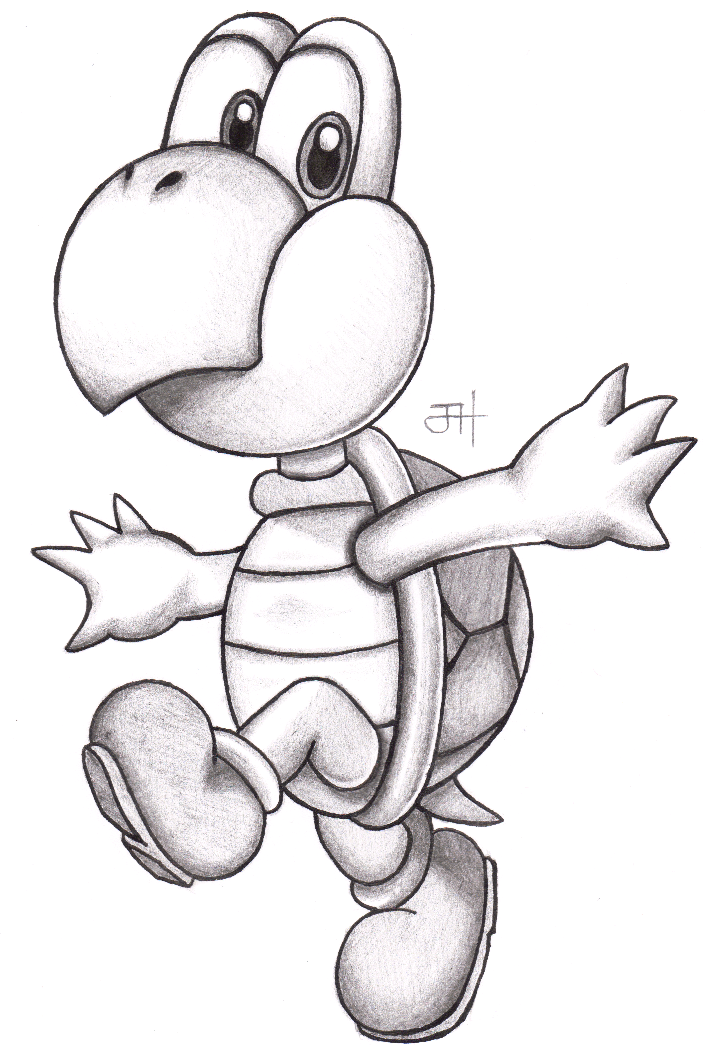 The best free Koopa drawing images. Download from 75 free ...
