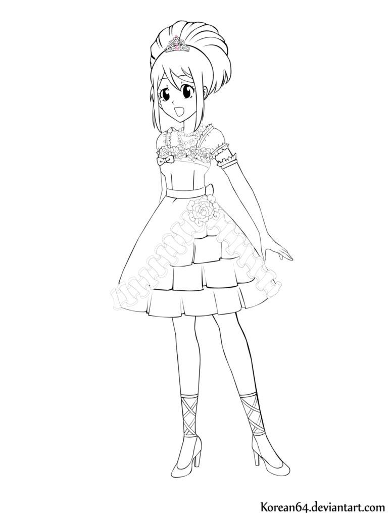 774x1032 Korean Anime Drawings By Kayleenash