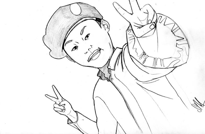 856x559 Korean Kid Sketch By Number0