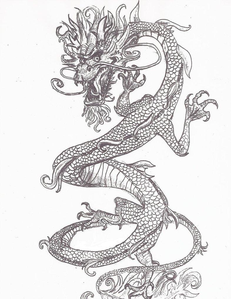 786x1017 Korean Yong Dragon By Angelrox99