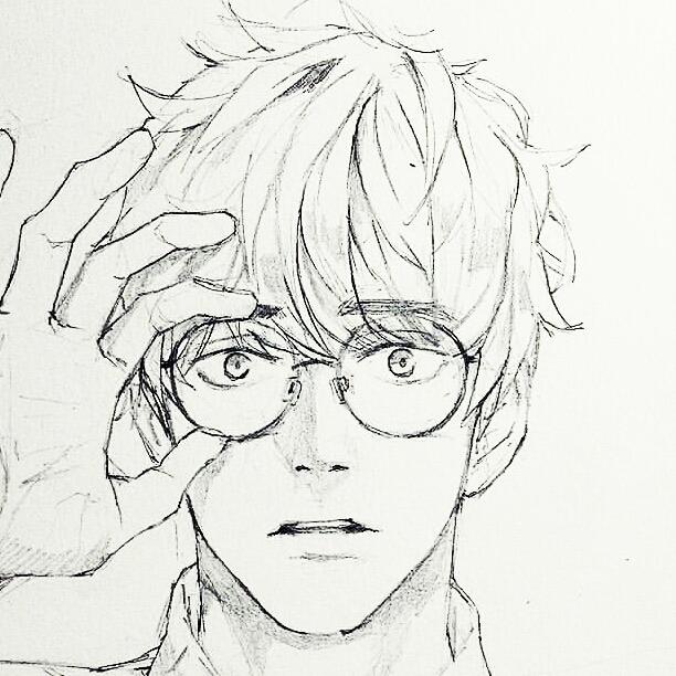 612x612 Anime Drawing Manga Korean