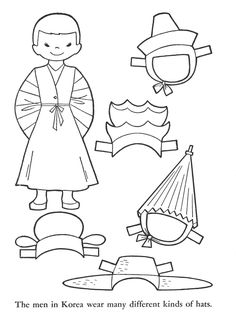 236x320 Flags Of South Korea Coloring Pages For Kids Korean Art Projects