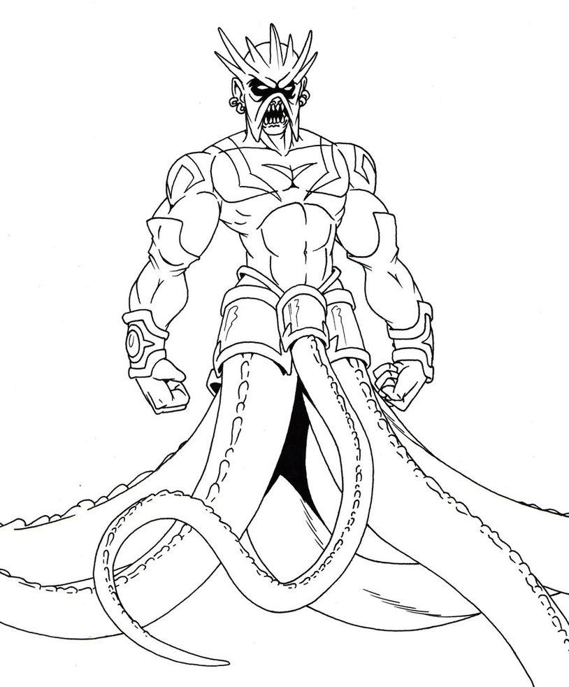 814x982 King Kraken By Prodigyduck