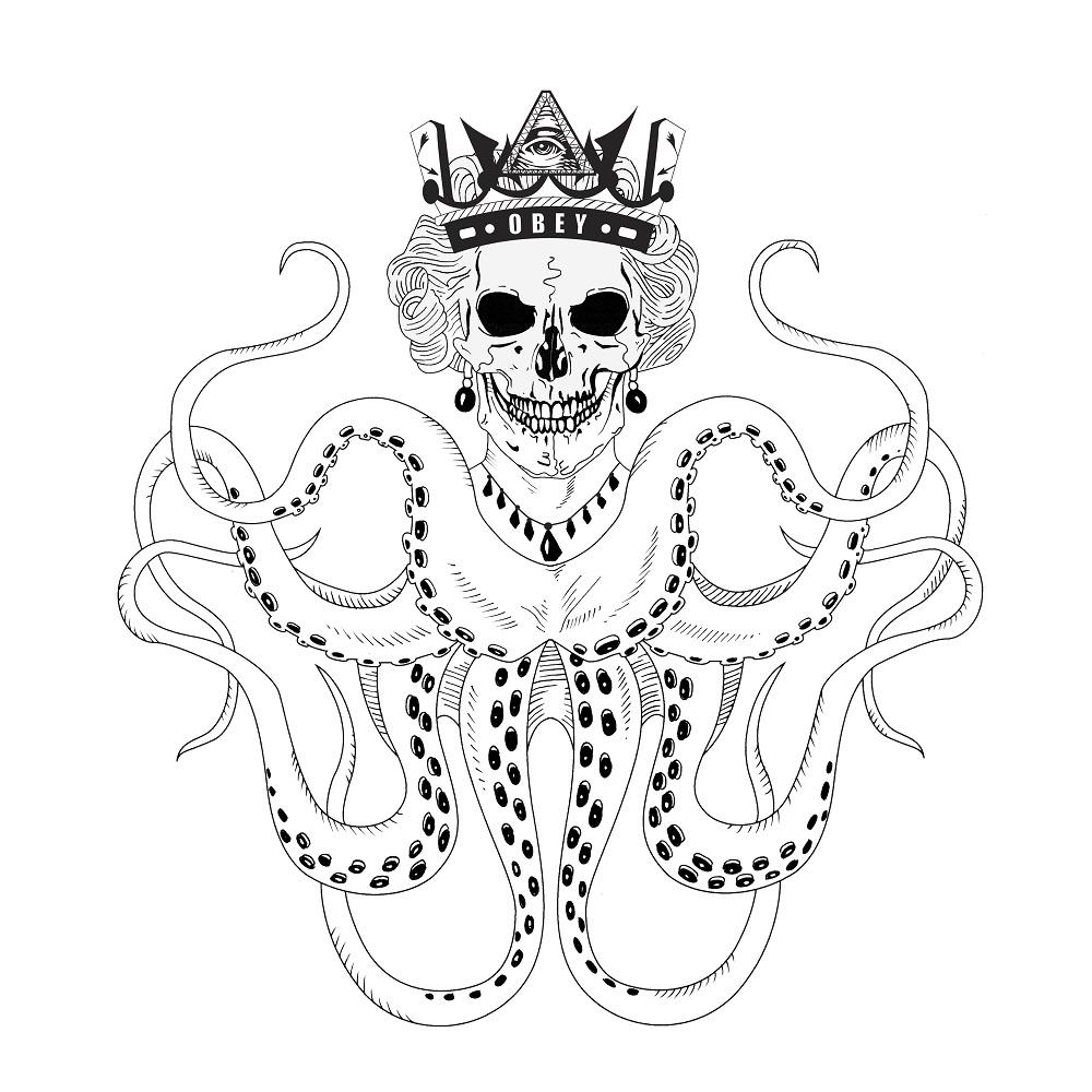 1000x1000 The Kraken Queen Silver Bullet Silver Shield
