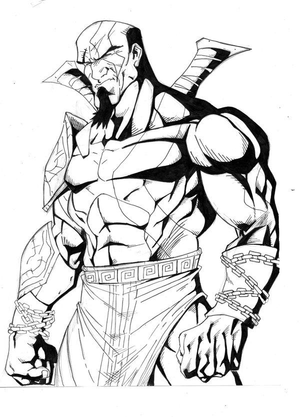 Kratos Drawing