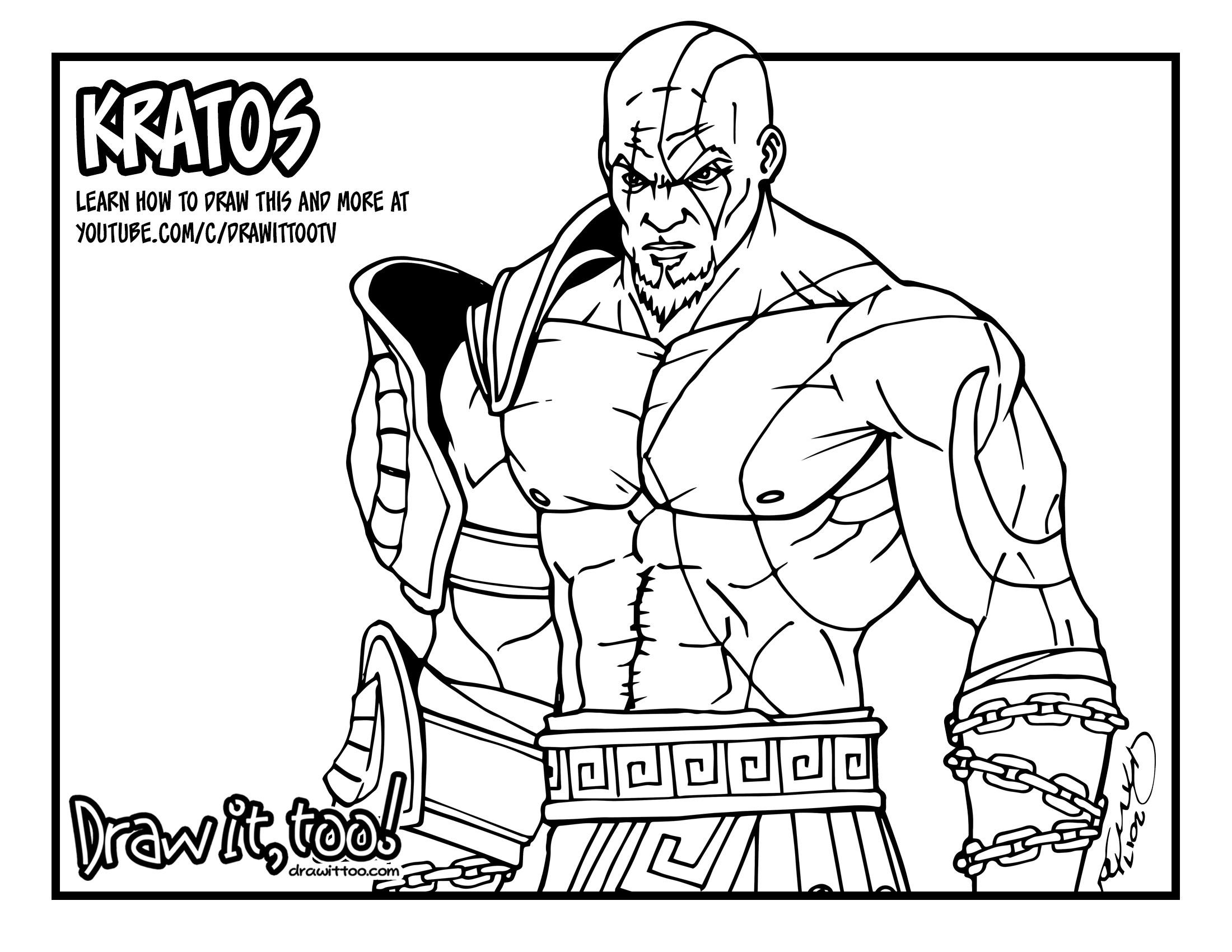2200x1700 Kratos (God Of War) Tutorial