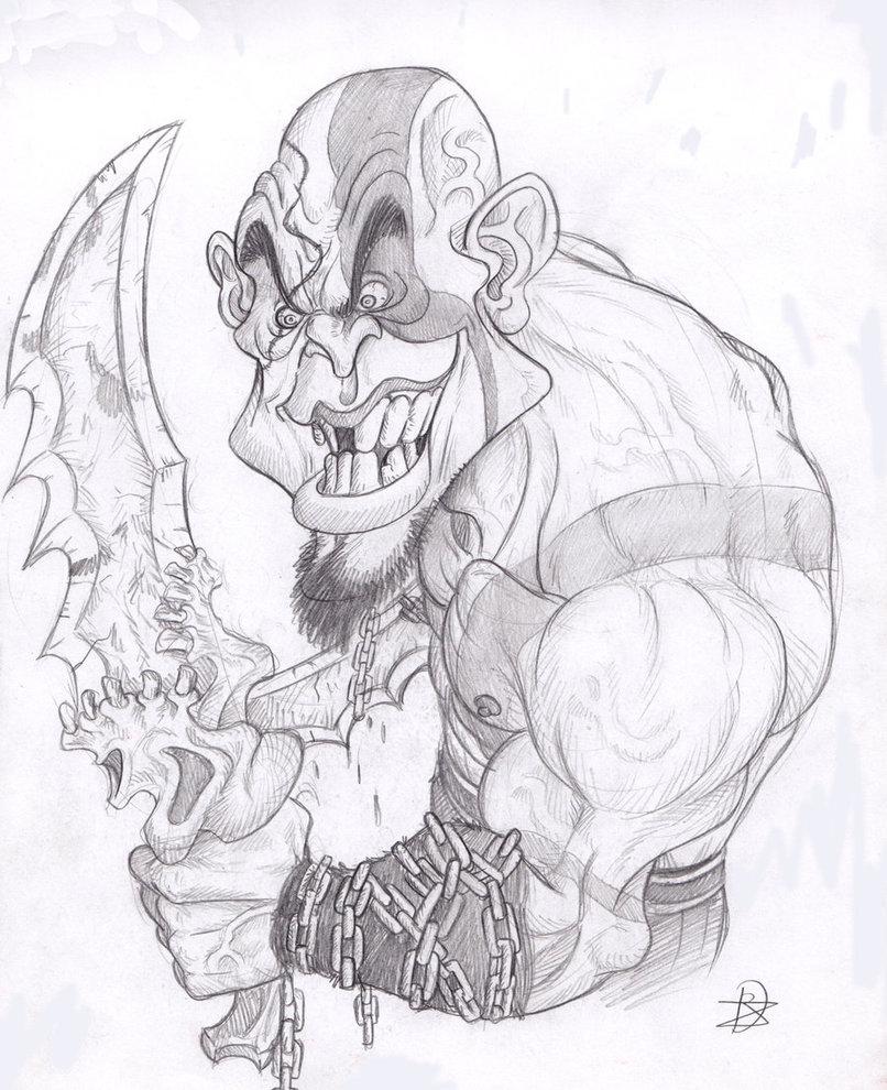 806x990 Kratos God Of War By Chivohit