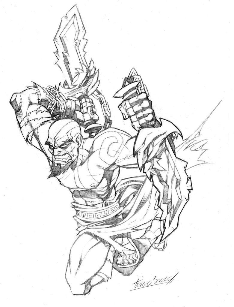 781x1023 Kratos By Ctrigo