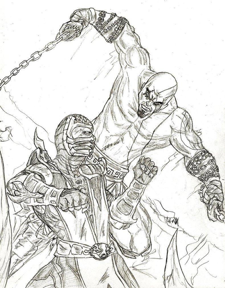 790x1011 Scorpion X Kratos By Amrock